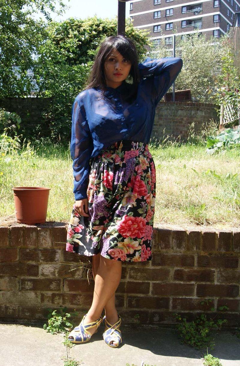 Blooming shorts