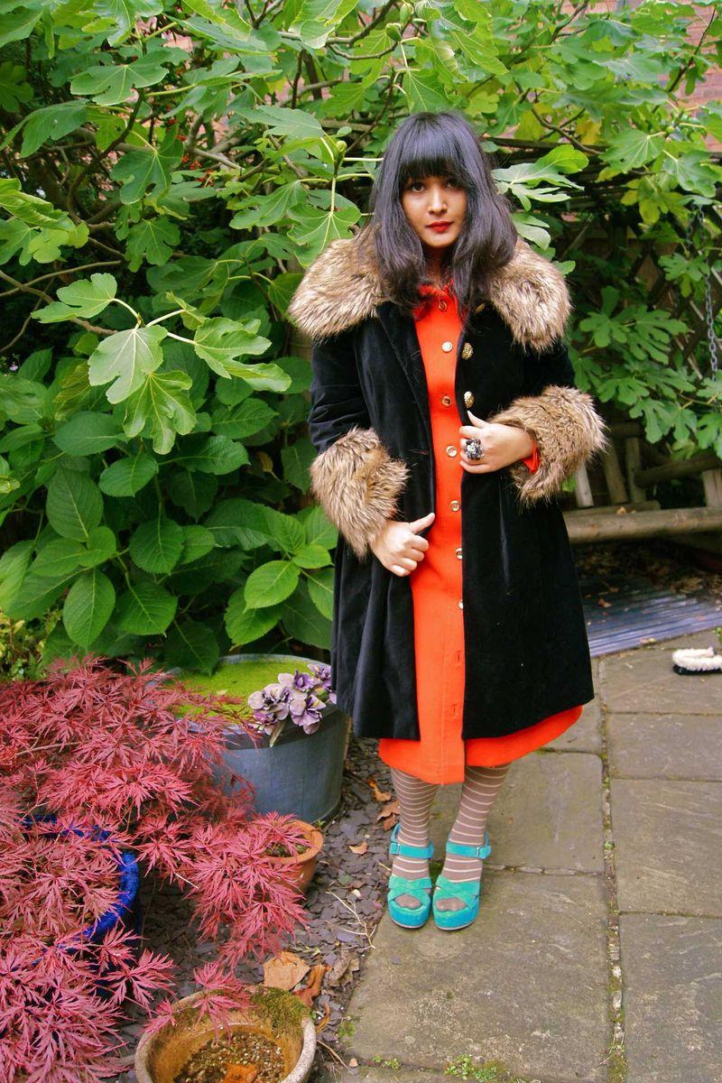 Fur-collared-coat