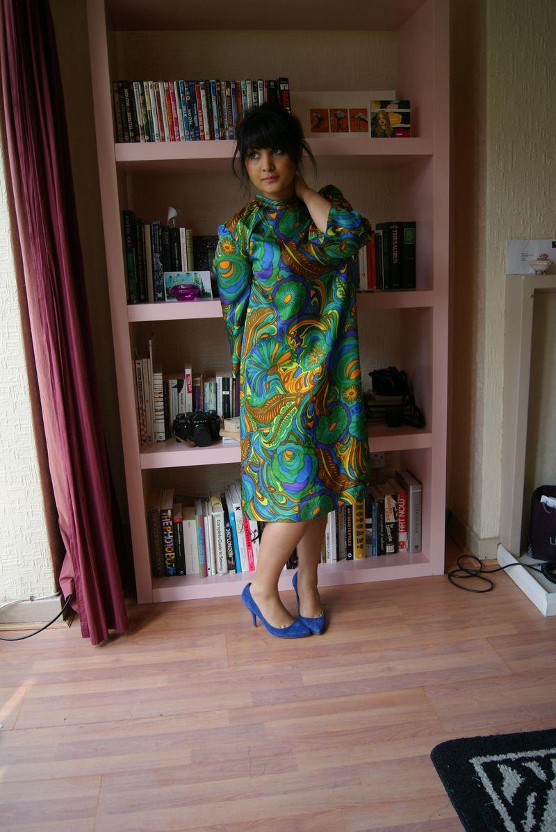60's multi dress