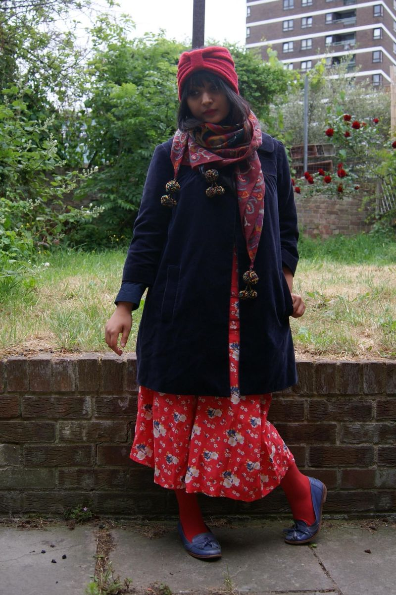 Flowery culottes