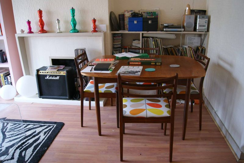 60's dining table